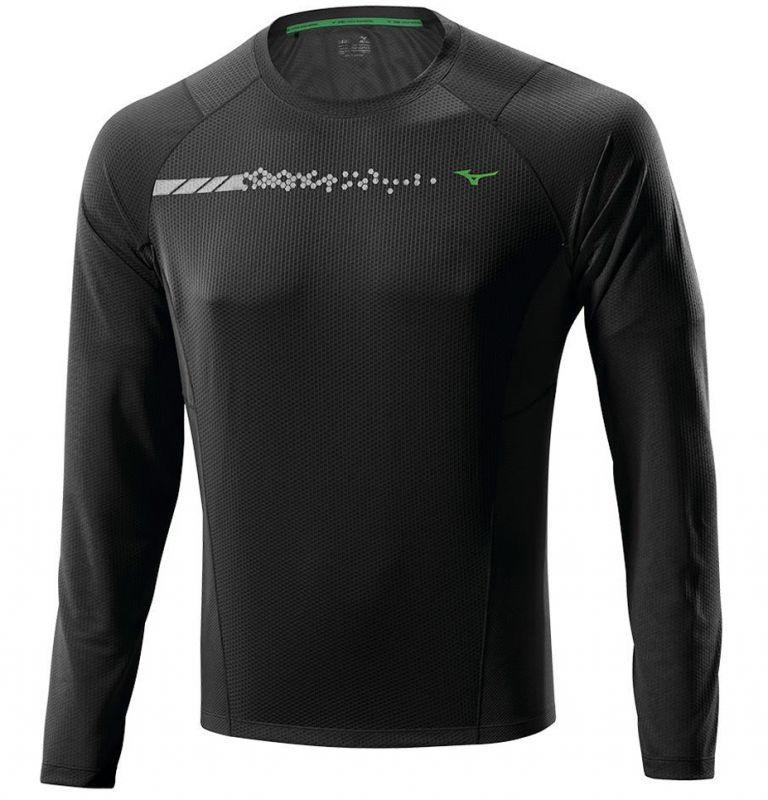Мужская беговая рубашка Mizuno Warmalite L/S TEE (J2GA4515 09)