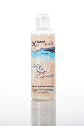 ГГель-Пенка для умывания  Аква-Баланс для сухой и чувствительной кожи 100 ml TM ChocoLatte