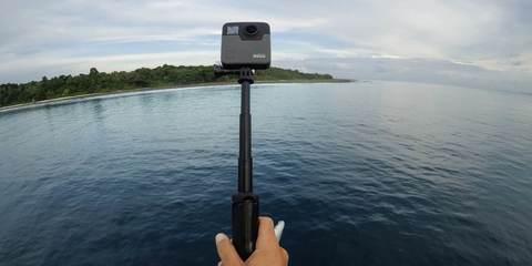 Панорамная камера GoPro Fusion 360 (CHDHZ-103) на природе