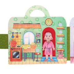 Сумка-игралка из фетра Кукольный домик, Smile decor