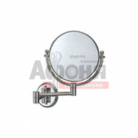 6106/L Зеркало круглое поворотное настенное 15 см