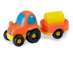 Smoby  Трактор с прицепом (750027)