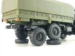KAMAZ-4310 with awning khaki Elecon 1:43