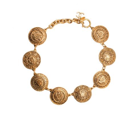Винтажное колье Chanel в византийском стиле
