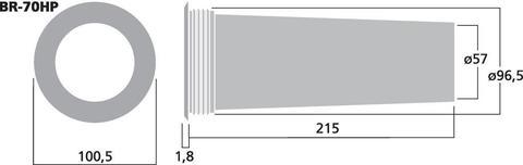 Фазоинвертор BR-70HP