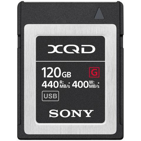 Карта памяти Sony XQD 120GB G серия 440/400MB/s