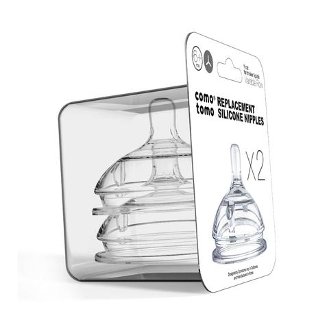 Набор сосок для бутылочки Comotomo с переменным потоком (6+мес.Y )