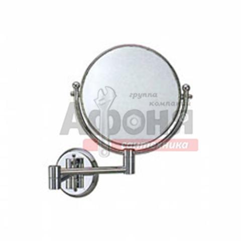 6108/L Зеркало круглое поворотное настенное 20 см