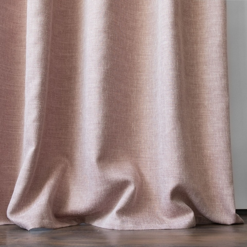 Комплект штор с подхватами Кенна розовый