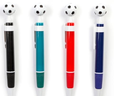 061-9905 Ручка шариковая-прикол, «Футбольный мяч», МИКС (1 шт)