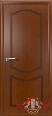 Дверь Владимирская фабрика дверей Классика 2ДГ2, цвет макоре, глухая