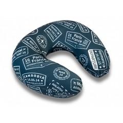 подушка для путешествий «виза» c ортопедическим эффектом memory-foam