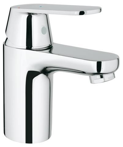 Eurosmart Cosmopolitan Смеситель для раковины, гладкий корпус, с энергосберегающим картриджем - подача холодной воды при центральном положении рычага