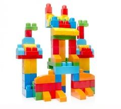 Mega Bloks Обучающий конструктор Делюкс, 150 деталей (CNM43)