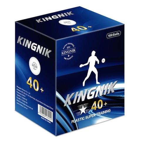 Пластиковые мячи KINGNIK 1* 40+ (100шт.)