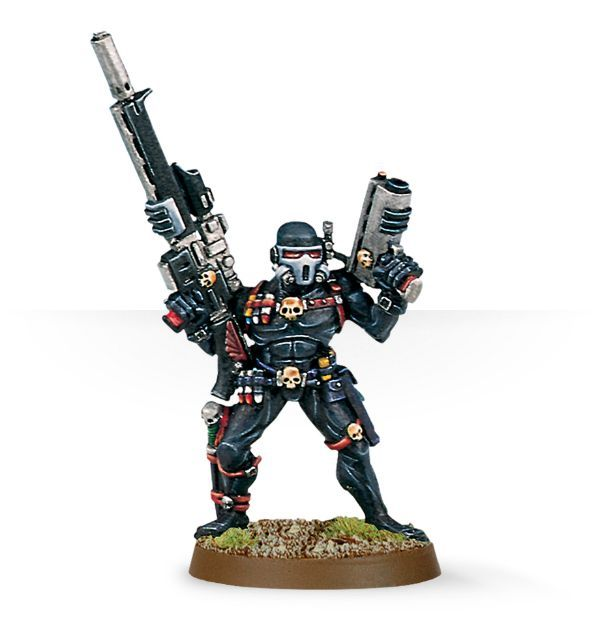 Vindicare Assassin with Exitus Pistol
