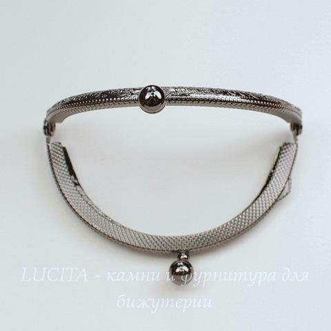 Фермуар 8,5х6 см (цвет - черный никель)