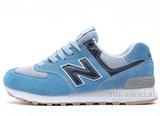 Кроссовки Женские New Balance 574 Sky Blue