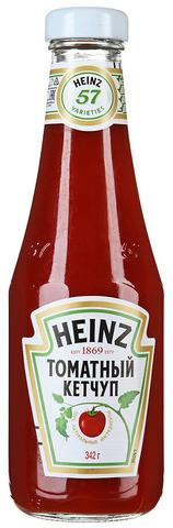 "Кетчуп ""Heinz"" Томатный ст/б 342г"