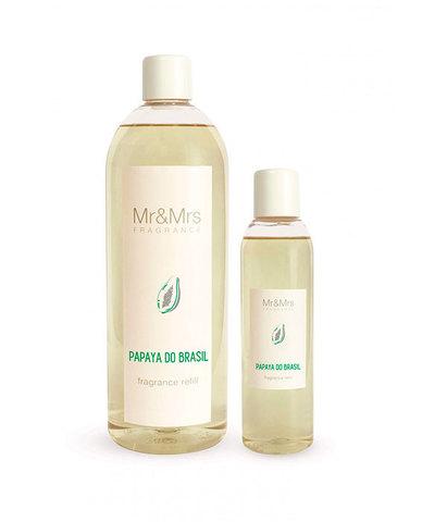 Наполнитель для ароматического диффузора Blanc №21 Бразильская папайя, Mr&Mrs Fragrance