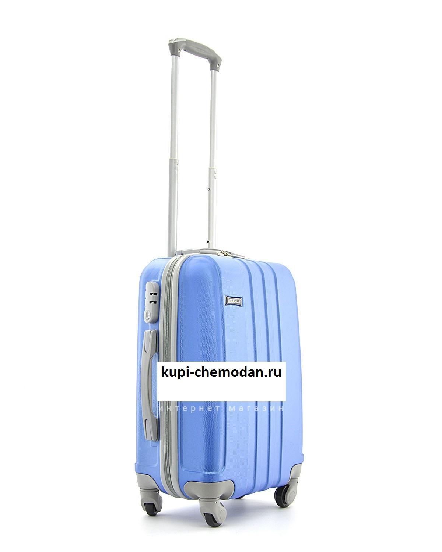 Чемодан Ananda 533 Голубой ручная кладь (S)