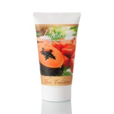 Thai Traditions Мусс для рук Папайя Papaya hand mousse 75мл