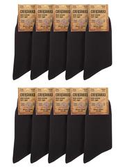 G13-1 носки мужские, черные (10шт)