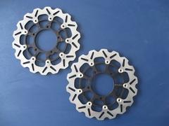 Тормозные диски передние для мотоцикла (2шт.) для Yamaha YZF-R6 05-15