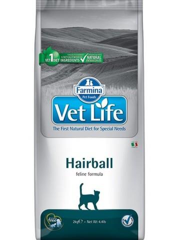 Сухой ветеринарный корм Farmina Vet Life Cat Hairball