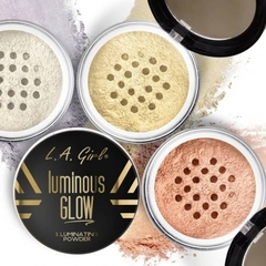 L.A. GIRL Светоотражающая пудра Luminous Glow Illuminating Powder
