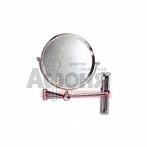 6308/L Зеркало круглое поворотное настенное 20 см