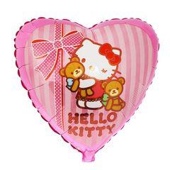 Шар фольга Hello Kitty с медвежатами