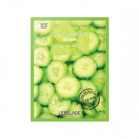 Маска LEBELAGE Cucumber Natural Mask 1 шт.