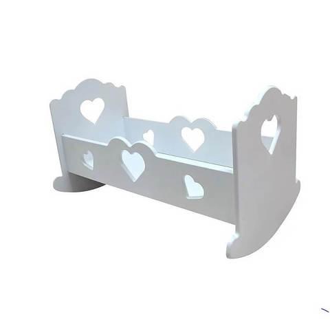 Кроватка-люлька «Сердечко» большая