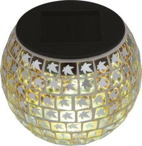 Светильник садово-парковый на солнечной батарее, 1 белый LED, FL006 (Feron)