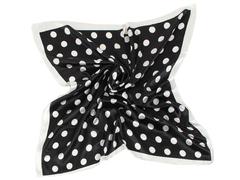L303-2 платок женский, черно-белый