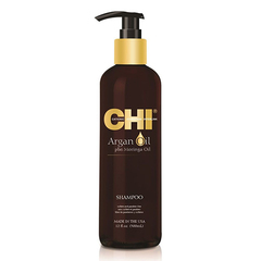 CHI Argan Oil Plus Moringa Oil Shampoo - Восстанавливающий шампунь с маслом арганы