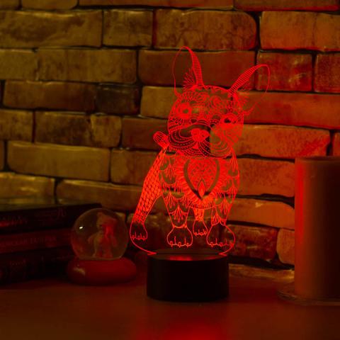 Art-Lamps Французский бульдог