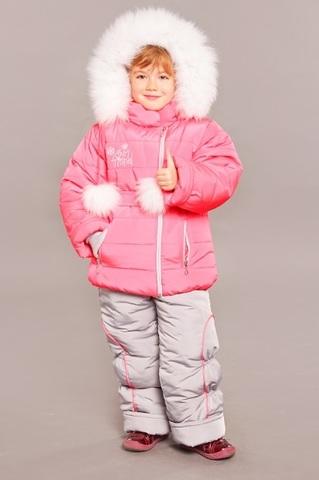 Зимний комбинезон-костюм Princess коралл
