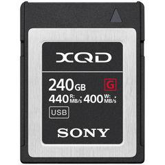 Карта памяти Sony XQD 240GB G серия 440/400MB/s