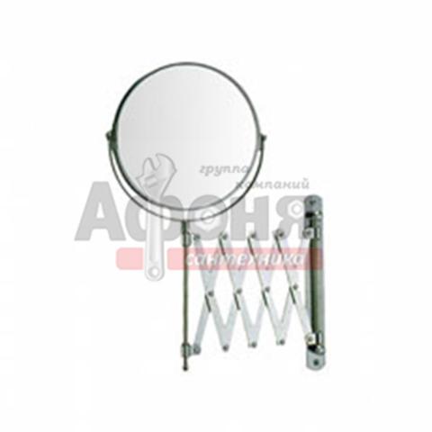 6406L Зеркало круглое раздвижное настенное