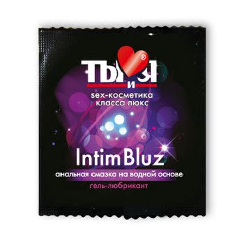 Гель-любрикант Intim bluz в одноразовой упаковке - 4 гр.