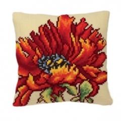 Подушка для вышивания Collection D'Art Мак