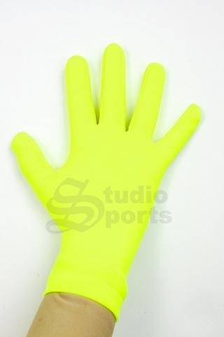 Термоперчатки цветные (лимон)