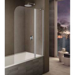 Шторка на борт ванны с распашной дверью правая 120х140 см Provex Look 2003 LK 28 GL R фото