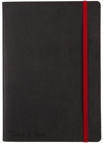 Блокнот Black n' Red Business Journal A5 (15*22см) линейка 72л гибкая картонная обложка