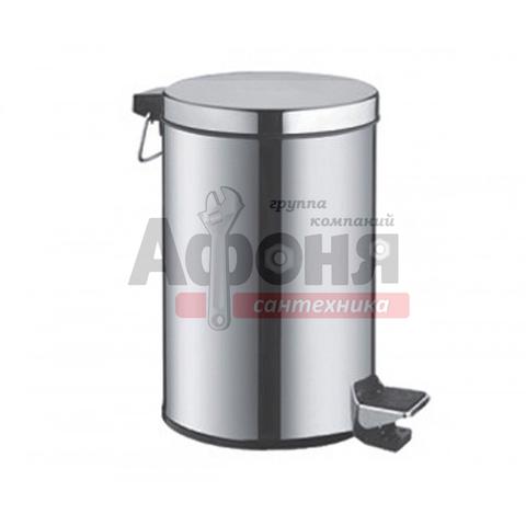 701/F/L Ведро д/мусора хром LUX  3 л.