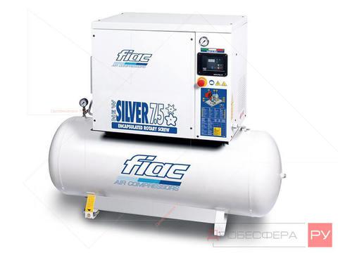 Винтовой компрессор FIAC NEW SILVER 7,5/200