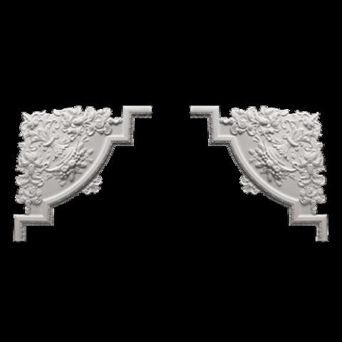 Угловой элемент Европласт из полиуретана 1.52.313, интернет магазин Волео