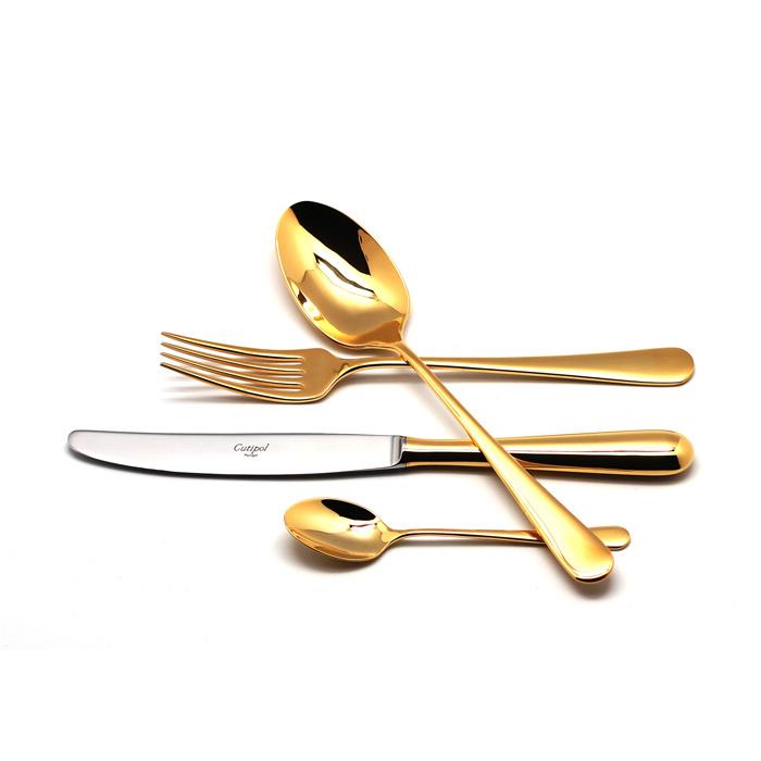 Набор полированный 24 пр ALCANTARA GOLD, артикул 9291, производитель - Cutipol